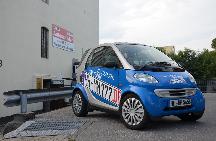 Kfz Zulassungsdienst Smart Blau
