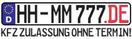 Kfz Zulassung ohne Lbv HamburgTermin