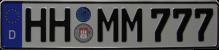 Eurokennzeichen stellen wir selber DIN geprüft her.